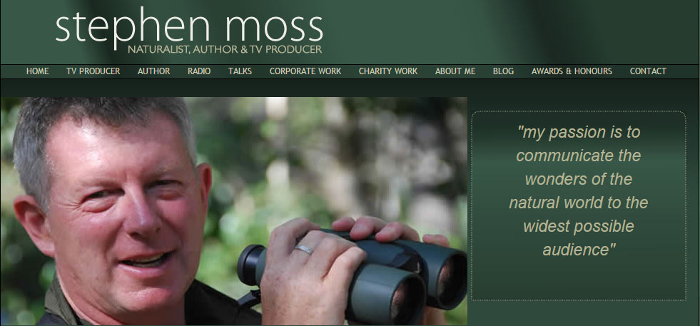 Stephen Moss - my passion is to communicate the wonders of the natural world to the widest possible audience