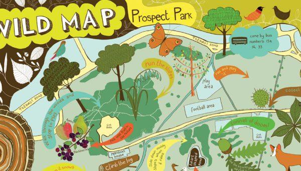 Prospect park map